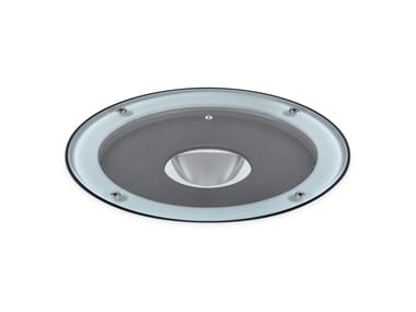 Segnapasso a LED in metallo per esterni IRIS LED