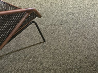 Solid-color ECONYL® carpeting IRON