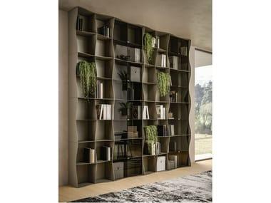 Libreria a giorno modulare in metallo IRON-IC