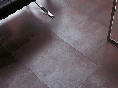 Flooring with metal effect IRONKER