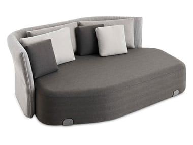 3 seater technical fabric garden sofa ISLA GOMERA