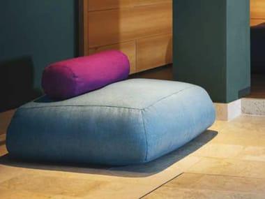 Upholstered wool armchair ISLAND | Armchair