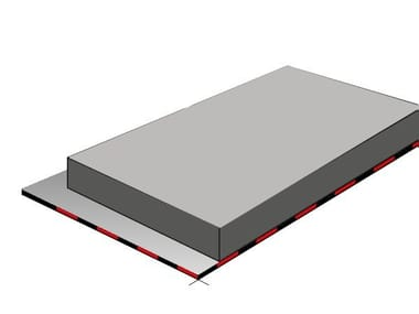 Isolante termoriflettente in EPS con grafite ISOBASE BI-REFLECTIVE PSE GRAPHITE 100