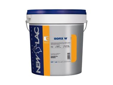Fondo all'acqua con potere isolante e coprente ISOFIx W BIANCO