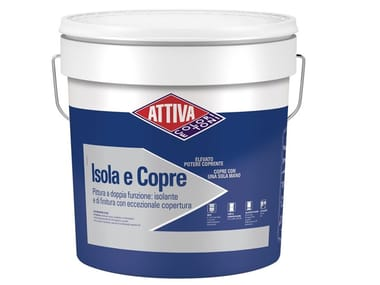 Pittura a doppia funzione: isolante e di finitura ISOLA E COPRE