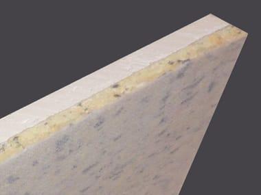 Lastra accoppiata per isolamento acustico parete ISOLAST® 120 STD