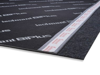 Underfloor noise insulation mat ISOLMANT BIPLUS