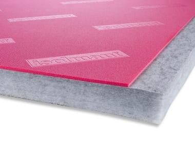 Pannello fonoisolante in fibra di poliestere ISOLMANT PERFETTO SPECIAL