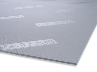 Sound insulation and sound absorbing felt in synthetic material ISOLMANT SPECIAL