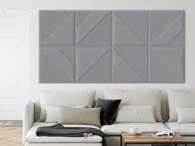Polyester fibre Acoustic wall panel ISOLSPACE SKIN