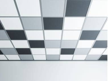 Sound absorbing ceiling panels ISOLSPACE SKY