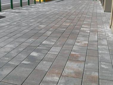 Concrete paving block ITACA - GRANITI
