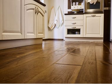 Floating prefinished wooden parquet ITALIAN OAK | OIL FINISHED TOBACCO