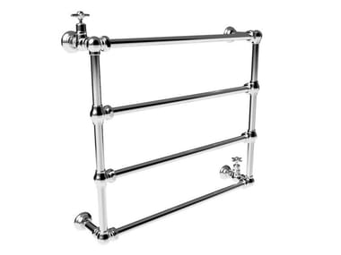 Wall-mounted chrome towel warmer ITALICA | 983B