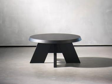 Mesa de centro de café redonda ITSKE | Mesa de centro redonda