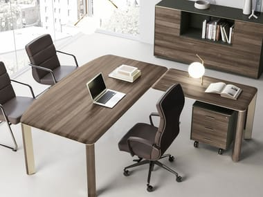 Contemporary Style Sectional Executive Desk IULIO | Sectional Office Desk