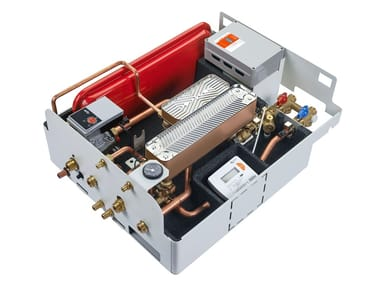 Indirect heating interface unit with electronic control IVAR•ESAT DUAL