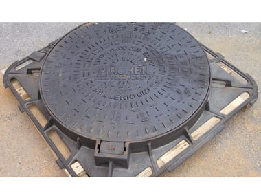Manhole cover and grille for plumbing and drainage system Inspection cover