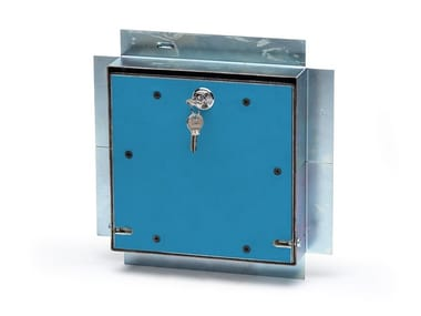 Fireproof inspection chamber Inspection hatch in PROMATECT®-100X