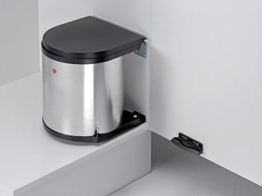 Stainless steel kitchen bin Integrated waste bin