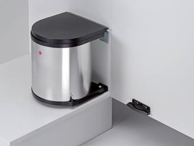 Stainless Steel Kitchen Bin Integrated Waste