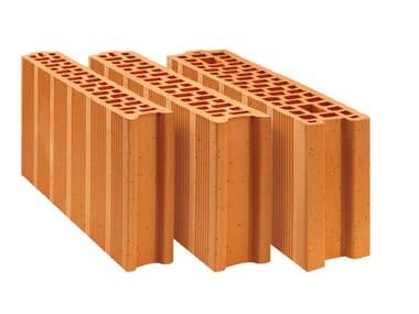 Clay block for internal partition Internal partition POROTON PLAN