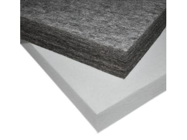 Polyester fibre sound insulation panel ISOLSPACE INDUSTRY