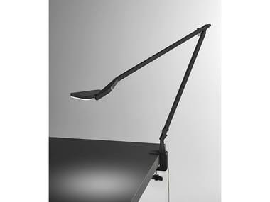 Lámpara de mesa LED ajustable con abrazadera JACKIE | Lámpara de mesa con abrazadera