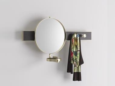 Metal mirror / coat rack JACKIE