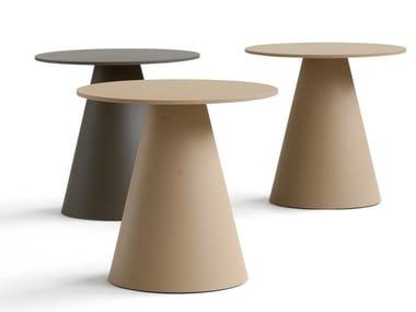 Round metal coffee table JACKLESS