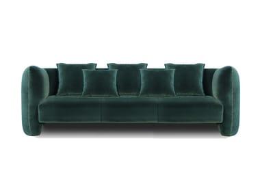 3 seater velvet sofa JACOB | Velvet sofa
