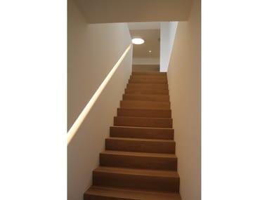 LED recessed plaster handrail JADE