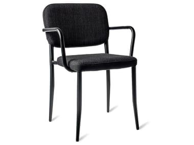 Fabric chair with fire retardant padding JAMIE