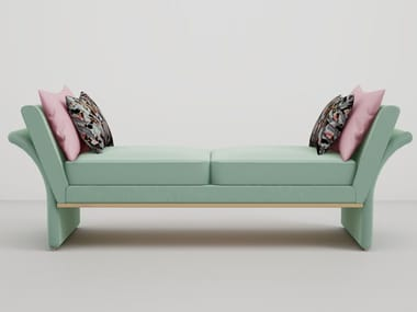 Upholstered fabric day bed JANET | Day bed