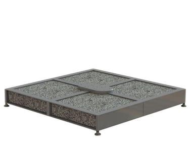 Base per ombrellone in granito JANUS TITAN | Base per ombrellone