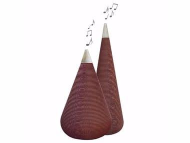 Kraft paper speaker JARRES MUSIC