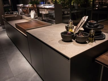 MDi by INALCO® kitchen worktop / Table top JASPER ITOP