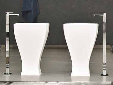 Lavabo freestanding in ceramica JAZZ | Lavabo freestanding