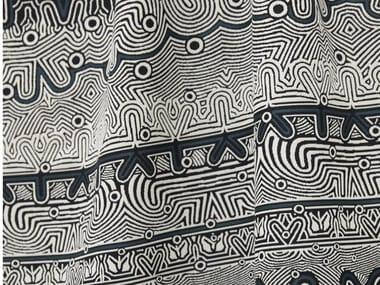 Tessuto jacquard in viscosa con motivi grafici JEAN PAUL GAULTIER - STRIPE