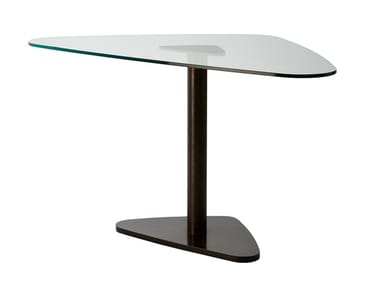 Glass table JEFF | Pivot table