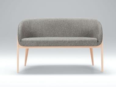 Fabric small sofa JENNY BISTRO | Small sofa