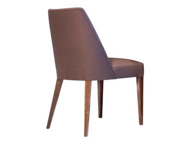 Cadeira estofada de tecido JERSEY