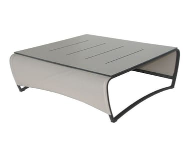 Tavolino da giardino in alluminio JETSTREAM | Tavolino