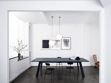 Rectangular meeting table JETTY