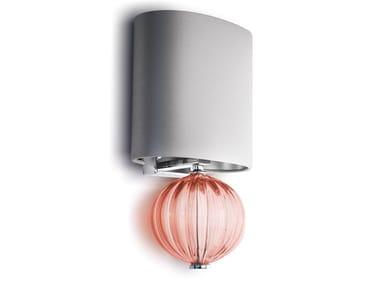 Lampada da parete fatta a mano in vetro di Murano JEWEL | Lampada da parete