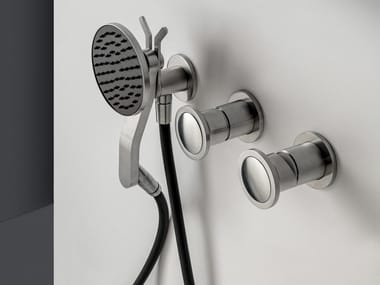 Stainless steel shower tap with individual rosettes JK21 | Shower tap with individual rosettes
