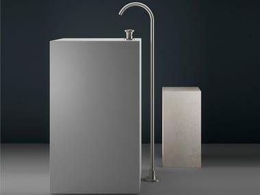Floor standing stainless steel washbasin tap JK21 | Washbasin tap