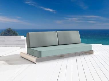 Modular fabric garden sofa JOANNE
