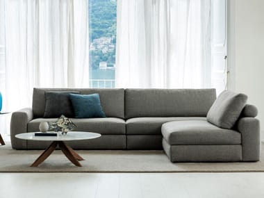 Corner sectional fabric sofa JOEY | Sectional sofa