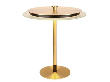 Brass table lamp with fixed arm JOHNSON/TL